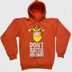 Tigger Orange Pullover Sweatshirts
